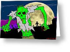 Zombies Greeting Card by Jason Kasper