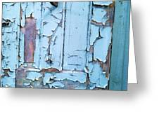 Blue Door in the Old South Greeting Card by Shawn Hughes