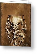Dionysus.... Greeting Card by Andrzej Szczerski