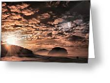 Early Morning Sunrise Greeting Card by Mario Bennet