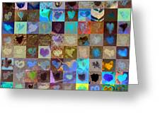 Eight Hundred Series Greeting Card by Boy Sees Hearts