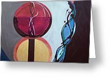 Havdallah...separation Greeting Card by Marlene Burns