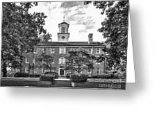 Ohio University Cutler Hall Greeting Card by University Icons