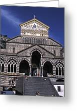 Saint Andrea In Amalfi, Italy Greeting Card by Richard Nowitz