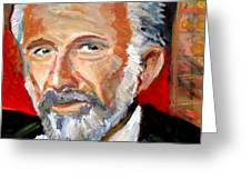 The Most Interesting Man In The World Greeting Card by Jon Baldwin  Art