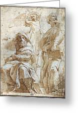 Raphael: Study, C1510 Greeting Card by Granger