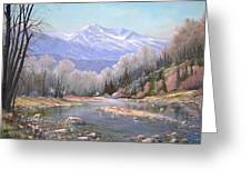 060521-3624  Spring In The Rockies Greeting Card by Kenneth Shanika