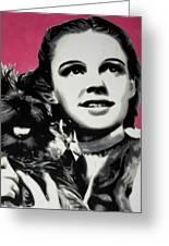 - Dorothy - Greeting Card by Luis Ludzska