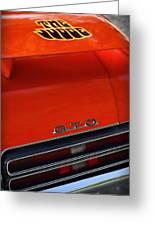 1969 Pontiac Gto The Judge Greeting Card by Gordon Dean II