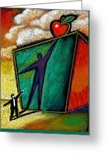 Ambition Greeting Card by Leon Zernitsky