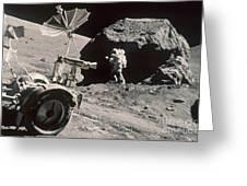 Apollo 17, December 1972: Greeting Card by Granger