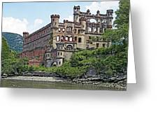 Bannerman Castle On Pollepel Island In The Hudson River New York Greeting Card by Brendan Reals