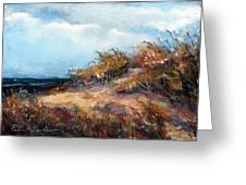 Beach Dune 2 Greeting Card by Peter R Davidson