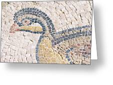 Bird Mosaic Greeting Card by Tal Bedrack