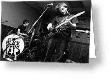 Black Keys Concert Photo 2002 Greeting Card by J Fotoman