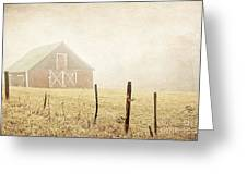 Blue Ridge Farm Greeting Card by Darren Fisher