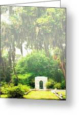 Bonaventure Cemetery Savannah Ga Greeting Card by William Dey
