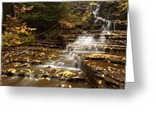 Cascade Greeting Card by Eric Foltz