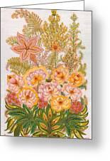 Charming Dreams Of My Childhood Greeting Card by Marfa Tymchenko