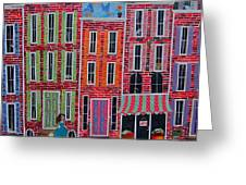 City streets Greeting Card by Blair Barbour