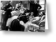 Clara Barton (1821-1912) Greeting Card by Granger