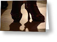 Dancing Shoes Greeting Card by Anahi DeCanio