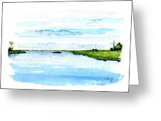 Davis Bayou Ocean Springs Mississippi Greeting Card by Paul Gaj
