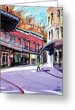 Eureka Springs Ak 4 Greeting Card by Ron Stephens