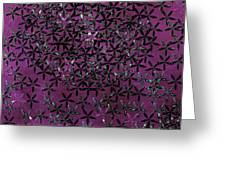 Flower Shower Greeting Card by Bonnie Bruno