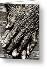 Folded Hands Greeting Card by Skip Nall