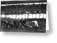 Football Game, 1925 Greeting Card by Granger