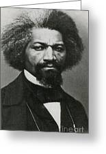 Frederick Douglass, African-american Greeting Card by Photo Researchers