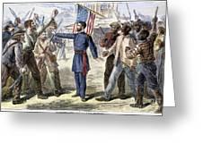 FREEDMENS BUREAU, 1868 Greeting Card by Granger