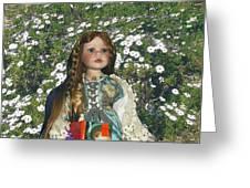Gabriella Elizabeth Rossetti Greeting Card by Adrianne Wood