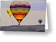 Hot-air Balloning Greeting Card by Heiko Koehrer-Wagner