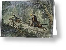 Irving: Sleepy Hollow Greeting Card by Granger