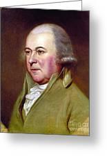 John Adams (1735-1826) Greeting Card by Granger