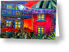La Villita Entrance Greeting Card by Patti Schermerhorn