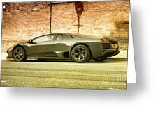 Lamborghini Greeting Card by Hristo Hristov