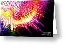 Lighting Explosion Greeting Card by Setsiri Silapasuwanchai