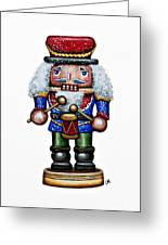 Little Drummer Boy Greeting Card by Christina Meeusen
