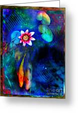 Lovers Greeting Card by Gina Signore