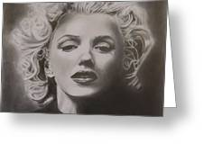 Marilyn Monroe Greeting Card by Mike OConnell