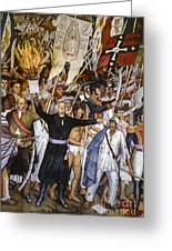 Mexico: 1810 Revolution Greeting Card by Granger
