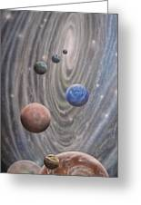 Multiverse 584 Greeting Card by Sam Del Russi