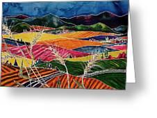 Palouse Fields Greeting Card by Carolyn Doe