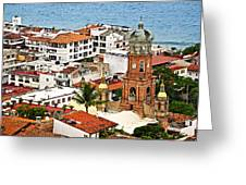 Puerto Vallarta Greeting Card by Elena Elisseeva