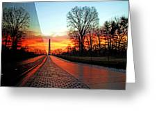 Resolve Greeting Card by Mitch Cat