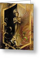 Revelation And Enlightenment Greeting Card by Dina Dargo