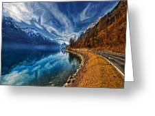 Road To No Regret Greeting Card by Philippe Sainte-Laudy
